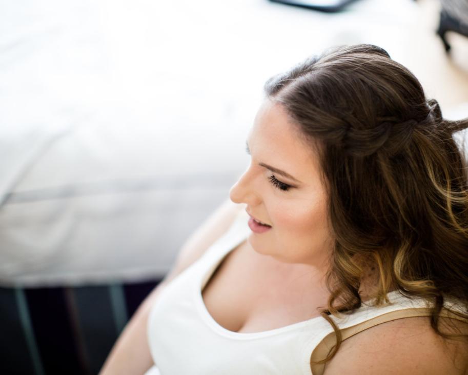 Bridal makeup marie