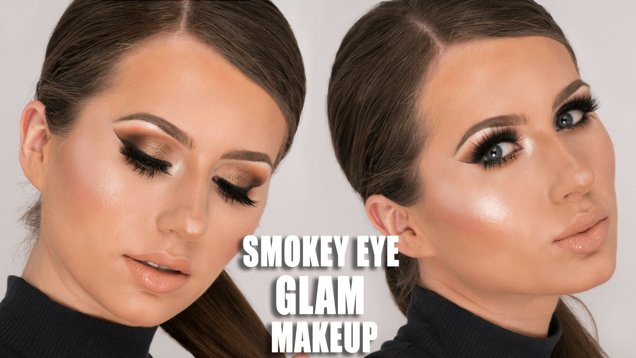 Smokey Eye Glam Makeup Tutorial Morphe 35o Tutorial Bykatiness
