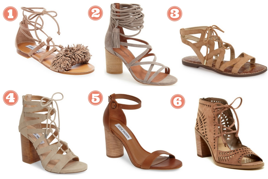 My favorite nue sandals for summer