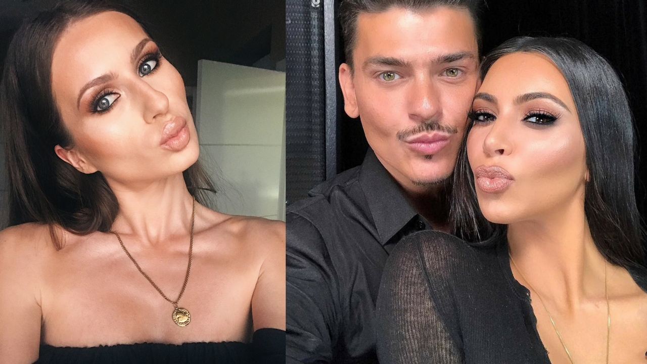 The Masterclass NYC with Mario Dedivanovic & Kim Kardashian Makeup Tutorial Step-By-Step