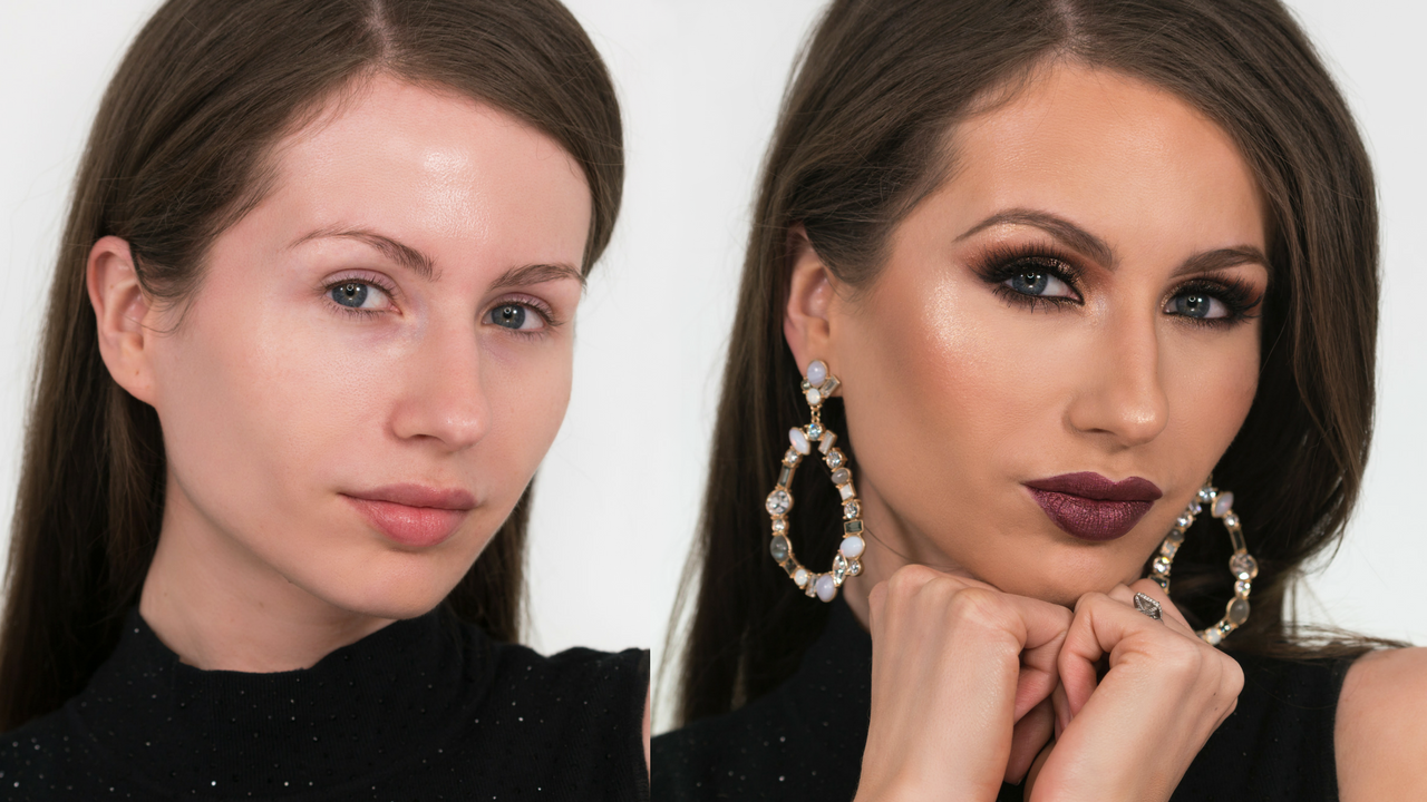 Holiday Glam Makeup Tutorial bykatiness